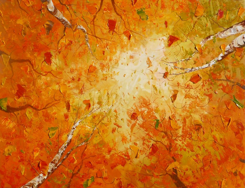 Chaleur d'automne - 36x48