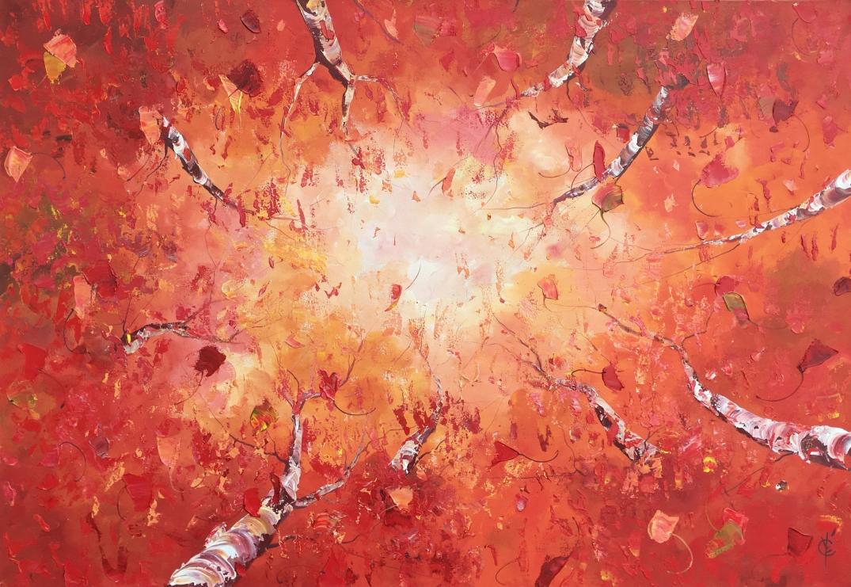 Le Coeur de Notre Vie - 40x58 - 2320$