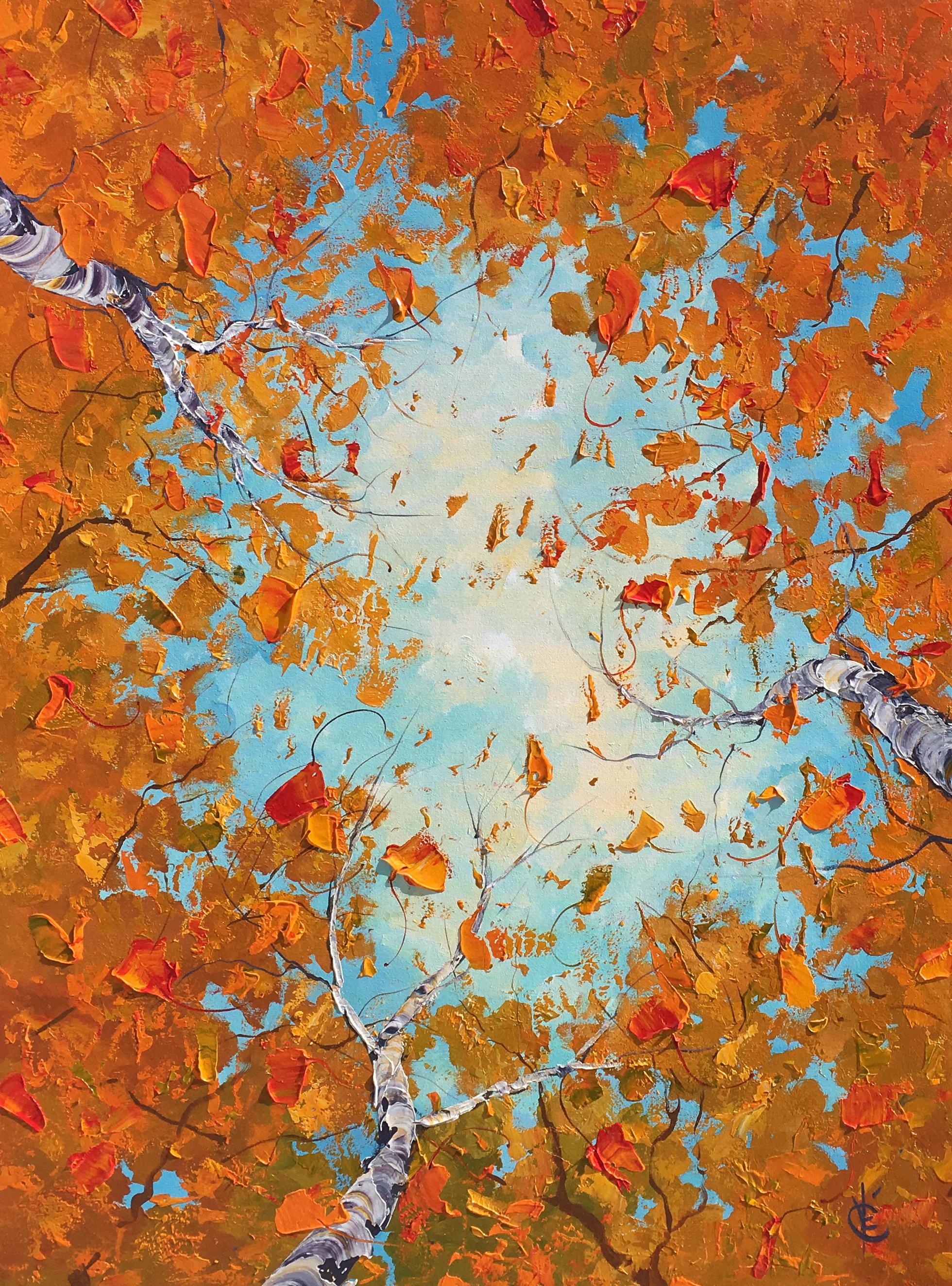Brown Sugar Leaves - 48x36 - 1728$