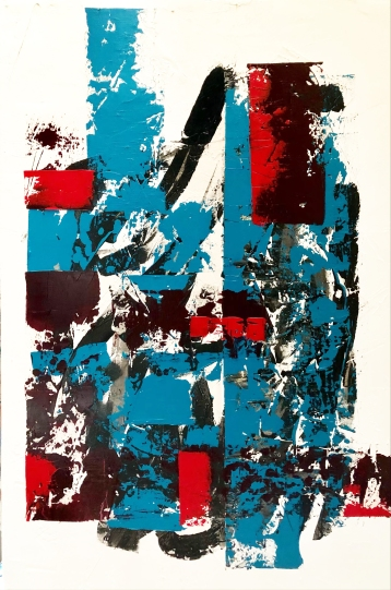 Léger - The equilibrium of planes - 64x44 - 2800$