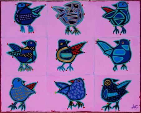 Chartrand - Bird nation 328 - 16x20 - 320$