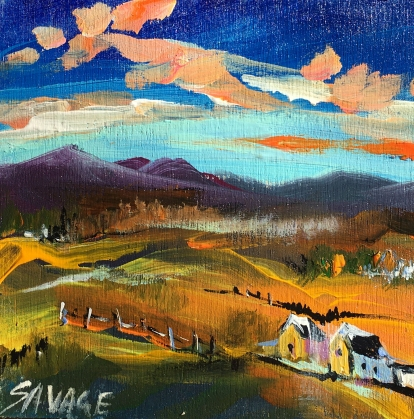 Savage - Far hills - 5x5 - 50$