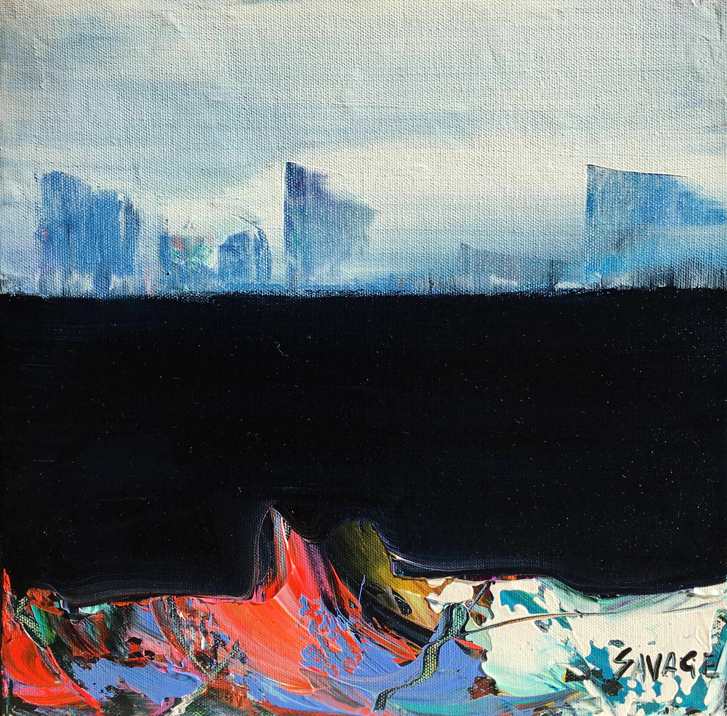 Savage - River city (Montréal) - 12x12 - 288$