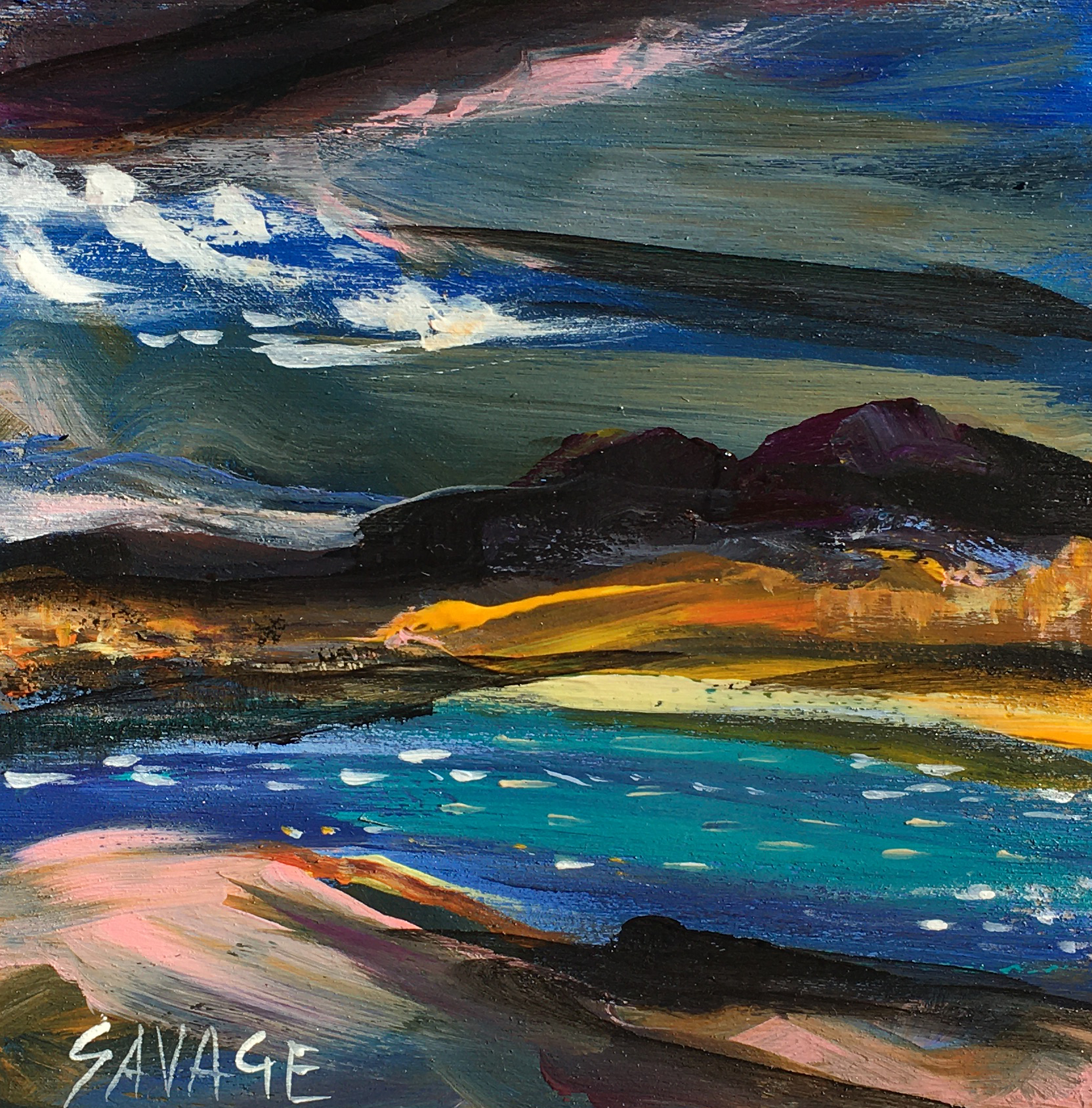 Savage - Wind on the lake - 5x5 - 50$